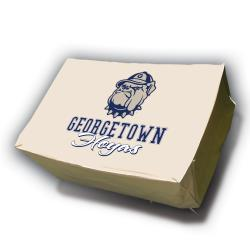 NCAA Georgetown Hoyas Rectangle Patio Set Table Cover - Thumbnail 0
