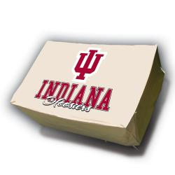 Indiana Hoosiers Rectangle Patio Set Table Cover - Thumbnail 2