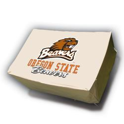 NCAA Oregon State Beavers Rectangle Patio Set Table Cover - Thumbnail 1