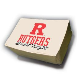 Rutgers Scarlet Knights Rectangle Patio Set Table Cover