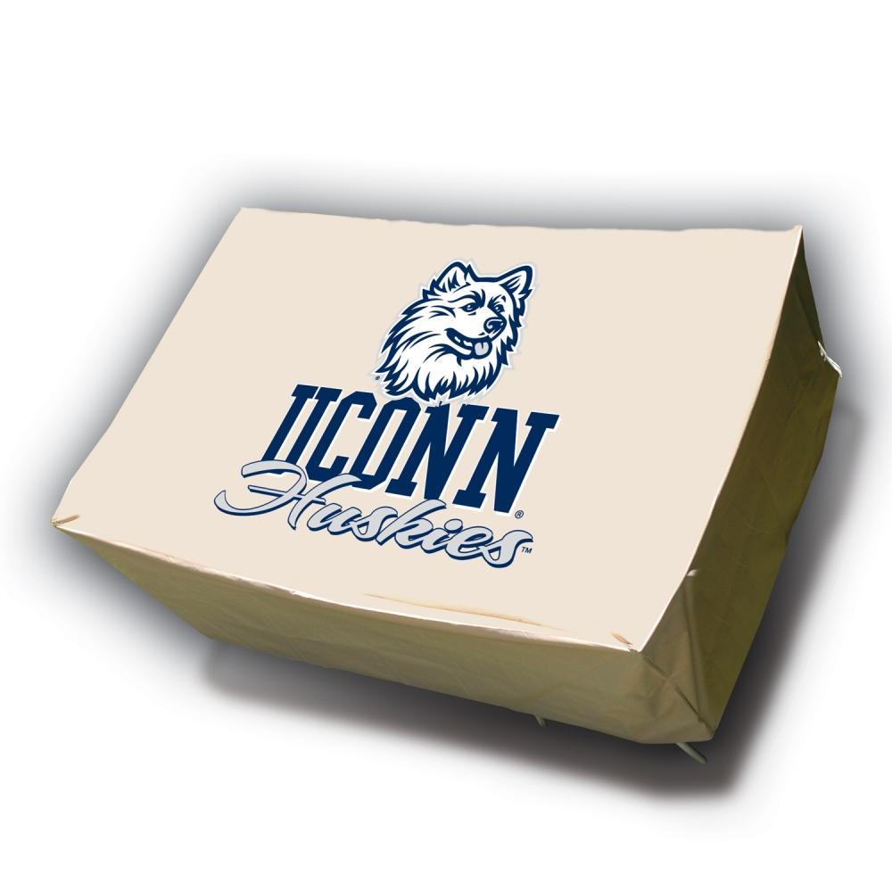 NCAA UCONN Huskies Rectangle Patio Set Table Cover