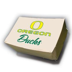 NCAA Oregon Ducks Rectangle Patio Set Table Cover - Thumbnail 1