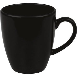 Waechtersbach Fun Factory Black Jumbo Cafelatte Cups (Set of 4)