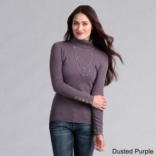 Oliver & James Women's Cashmere Turtleneck Sweater