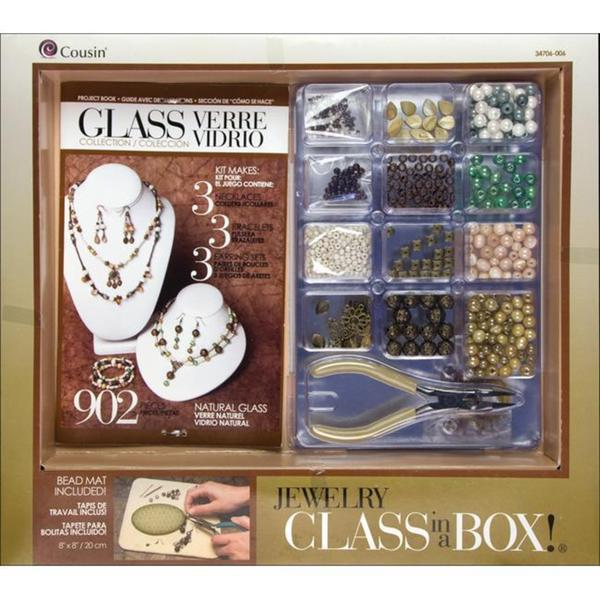 Jewelry Basics 'Naturals Glass' Class In A Box Kit