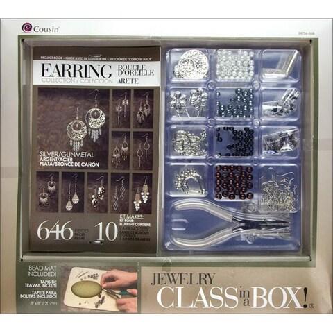 Jewelry Basics 'Silvertone Earrings' Class In A Box Kit