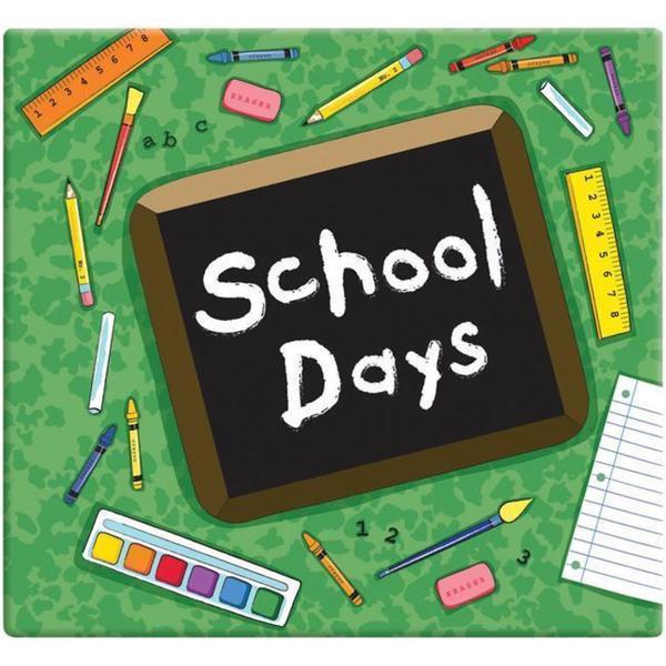 Green School Days Album (12 x 12)