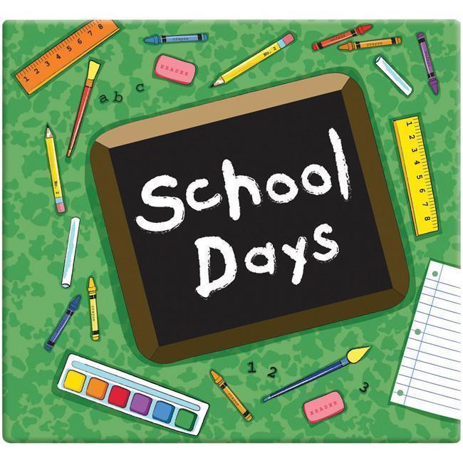 Green School Days Album (12 x 12) (School Days Album 12 X...