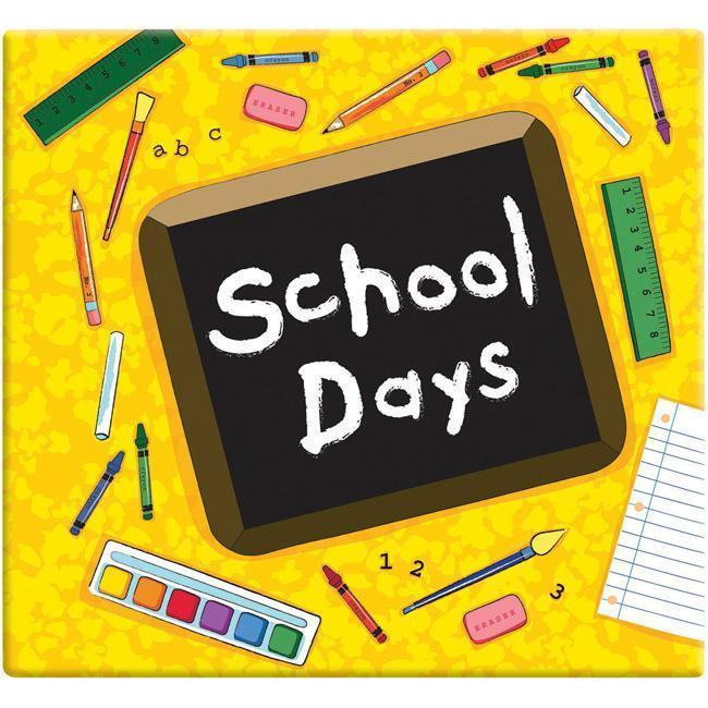 Yellow School Days Album (12 x 12) (School Days Album 12 ...