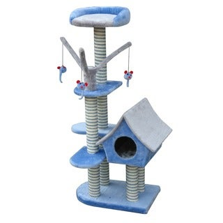 Cat Life Cottage and Activity Tower