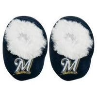 Milwaukee Brewers Baby Bootie Slippers