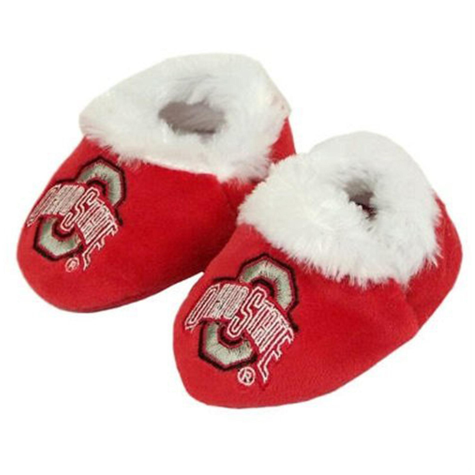 Ohio State Buckeyes Baby Bootie Slippers
