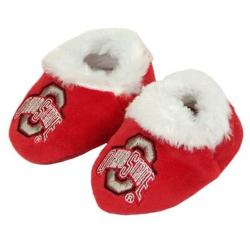 Ohio State Buckeyes Baby Bootie Slippers - Thumbnail 2