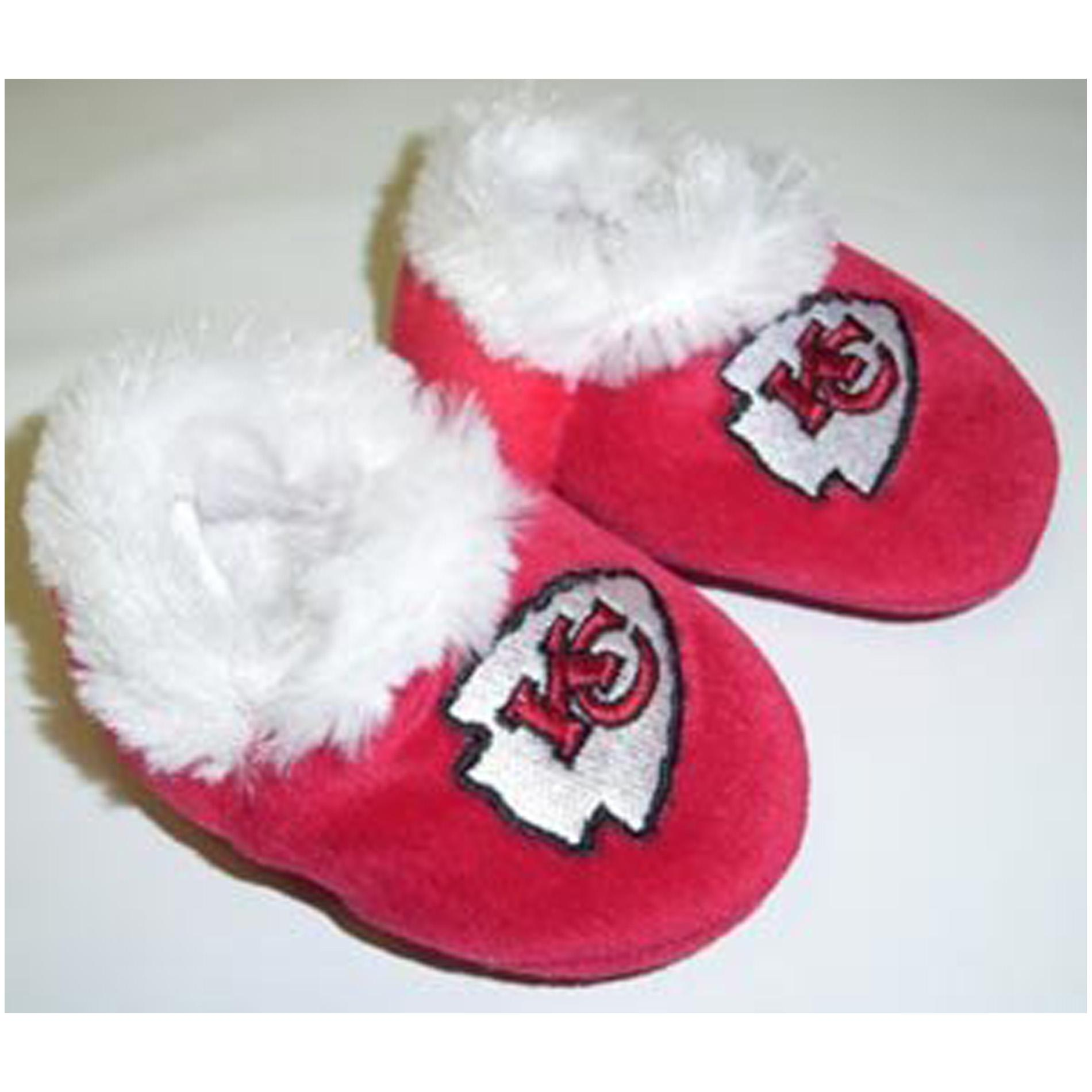 Kansas City Chiefs Baby Bootie Slippers