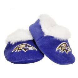 Baltimore Ravens Baby Bootie Slippers