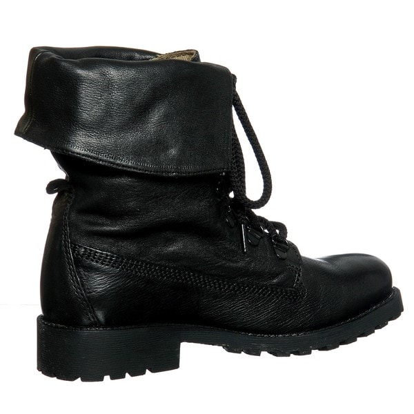 Diba women 39 s 39 miss me 39 black combat boots free shipping for Miss diva shoes