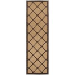 Woven Dorchester Indoor/Outdoor Geometric Rug (2'6 x 7'10)