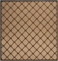 Woven Dorchester Indoor/Outdoor Geometric Area Rug (7'6 Square)