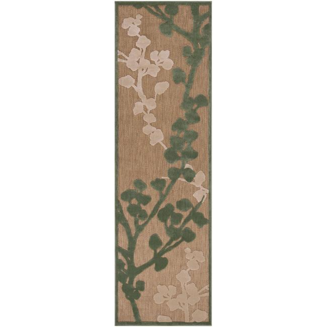 Woven Beacon Indoor/Outdoor Floral Rug (2'6 x 7'10)