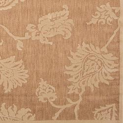 Woven Brookline Indoor/Outdoor Floral Rug (8'8 x 12')