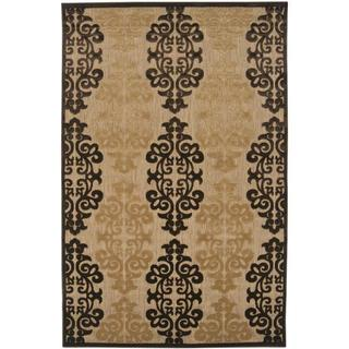 Woven Fenway Natural Indoor/Outdoor Damask Print Rug (8'8 x 12')|https://ak1.ostkcdn.com/images/products/5916099/P13619112.jpg?_ostk_perf_=percv&impolicy=medium