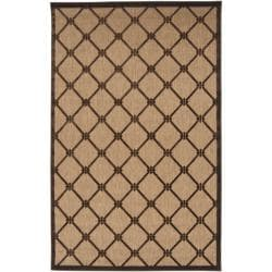 Woven Dorchester Indoor/Outdoor Geometric Rug (3'9 x 5'8)
