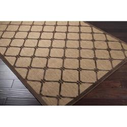 Woven Dorchester Indoor/Outdoor Geometric Rug (5' x 7'6) - Thumbnail 1