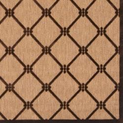 Woven Dorchester Indoor/Outdoor Geometric Rug (5' x 7'6) - Thumbnail 2