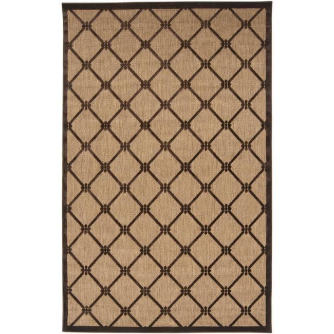 Woven Dorchester Indoor/Outdoor Geometric Rug (8'8 x 12')