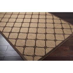 Woven Dorchester Indoor/Outdoor Geometric Rug (8'8 x 12') - Thumbnail 1