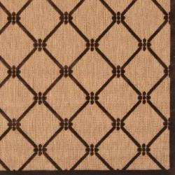Woven Dorchester Indoor/Outdoor Geometric Rug (8'8 x 12') - Thumbnail 2
