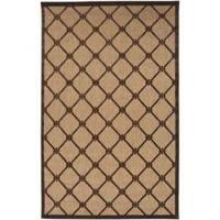 Woven Dorchester Indoor/Outdoor Geometric Area Rug (8'8 x 12')