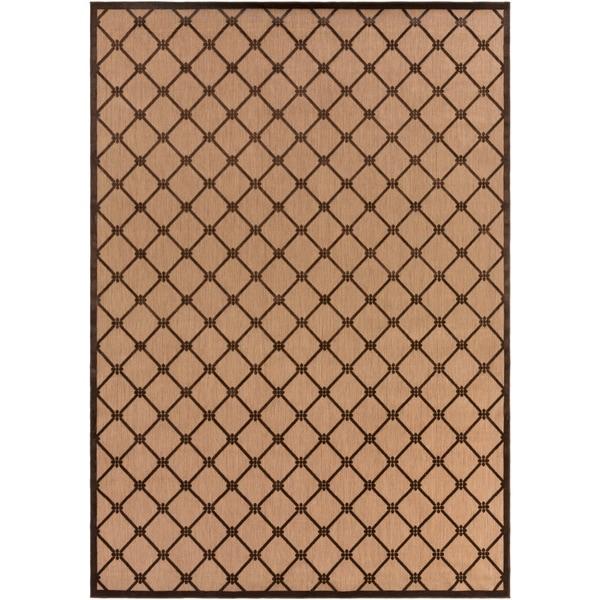 Woven Dorchester Indoor/Outdoor Geometric Area Rug - 8'8 x 12'