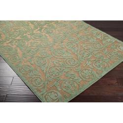 Woven Portera Indoor/Outdoor Floral Rug (3'9 x 5'8)