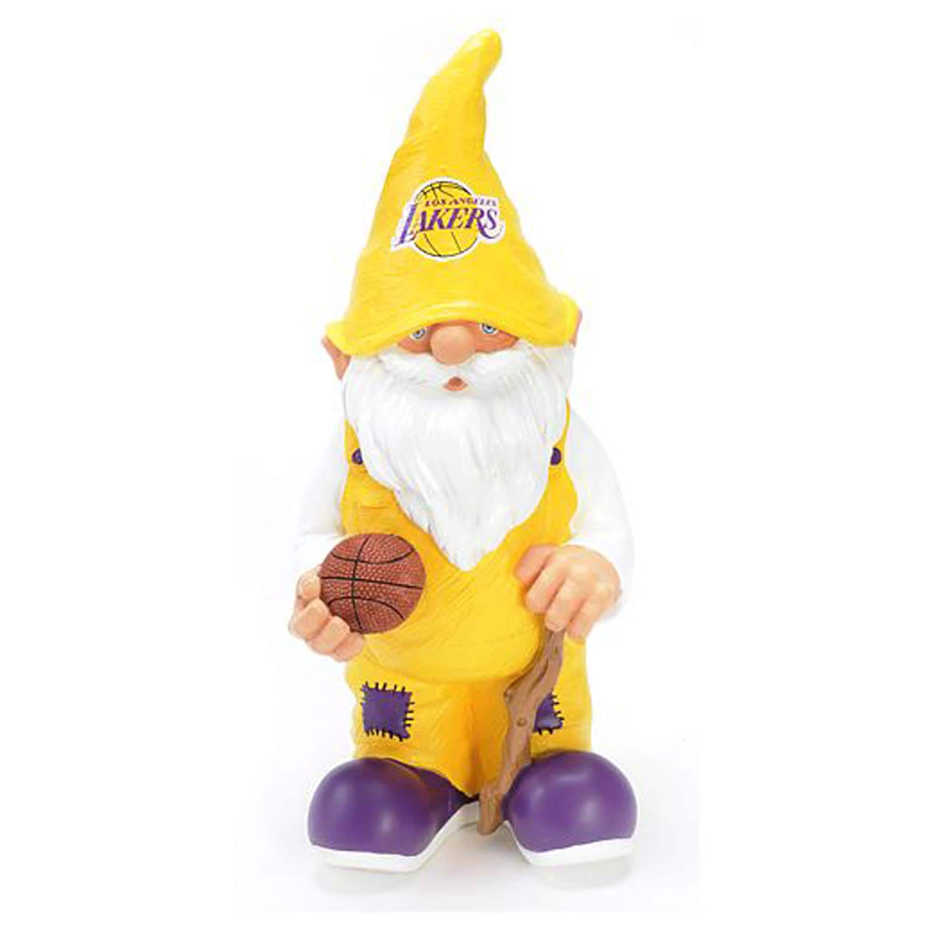 Los Angeles Lakers 11-inch Garden Gnome