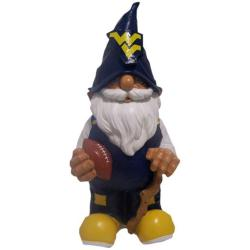 West Virginia Mountaineers 11-inch Garden Gnome - Thumbnail 1