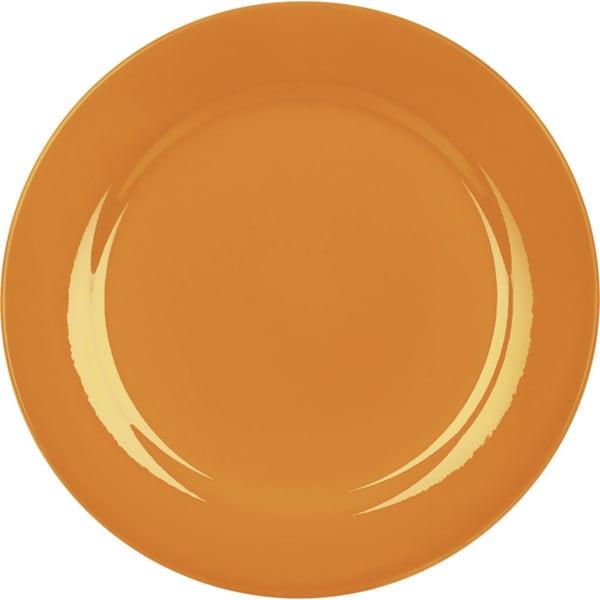 Waechtersbach Fun Factory Orange Salad Plates (Set of 4)  sc 1 st  Overstock.com & Waechtersbach Fun Factory Orange Salad Plates (Set of 4) - Free ...