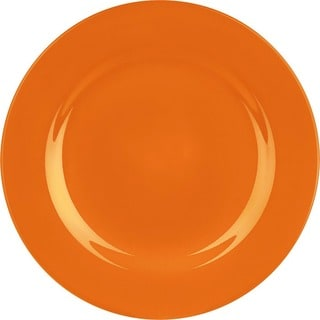 Waechtersbach Fun Factory Orange Dinner Plates (Set of 4)