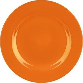 Waechtersbach Fun Factory Orange Dinner Plates (Set of 4)