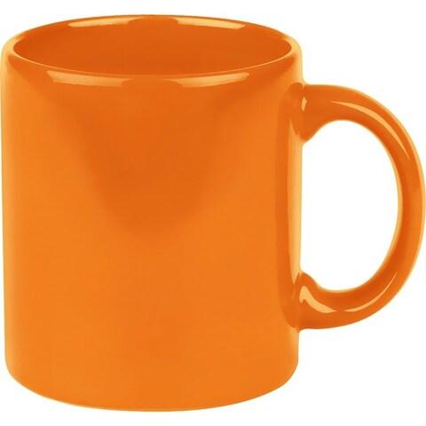 Waechtersbach Fun Factory Orange Mugs (Set of 4)