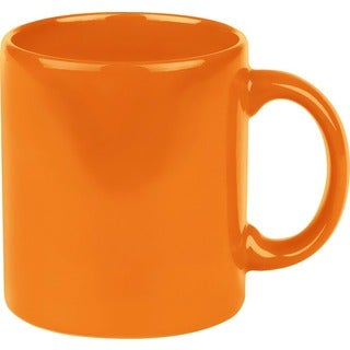 Waechtersbach Fun Factory Orange Mugs (Set of 4)