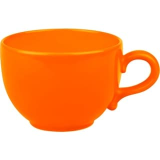 Waechtersbach Fun Factory Orange Jumbo Cups (Set of 4)