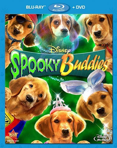 Spooky Buddies (Blu-Ray Combo Pack) (Blu-ray/DVD)