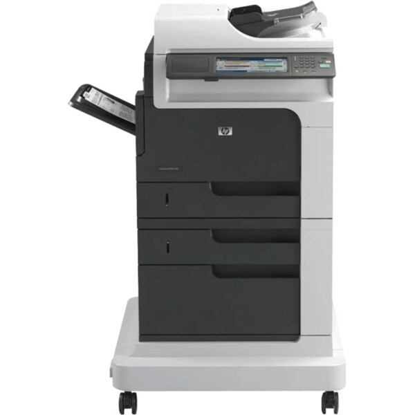 HP LaserJet M4555H Laser Multifunction Printer - Monochrome - Plain P