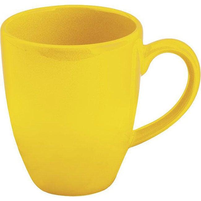 Waechtersbach Fun Factory Buttercup Cafe Latte Cups (Set of 4)