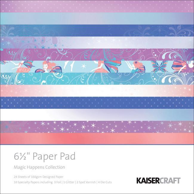 Magic Happens 6.5x6.5-inch 40-sheet Paper Pad
