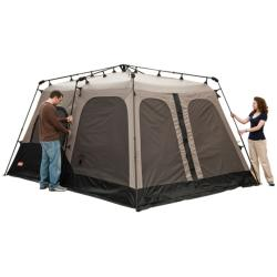 Coleman Black and Gray Instant Two-room Eight-person Tent (14' x 8') - Thumbnail 2
