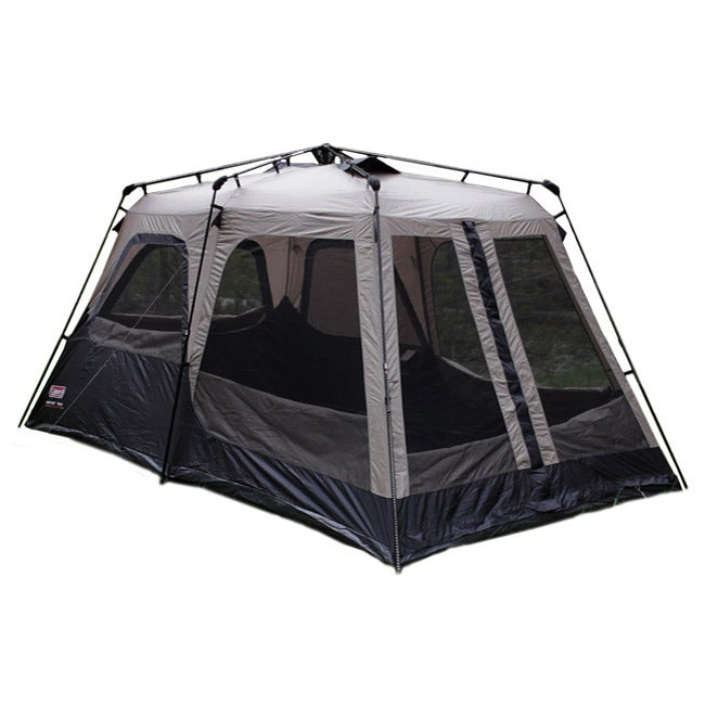 Coleman Black and Gray Instant Two-room Eight-person Tent (14' x 8') - Thumbnail 0