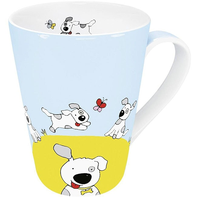 Konitz Globetrotter Dog Mugs (Set of 4)