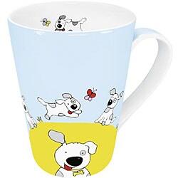 Konitz Globetrotter Dog Mugs (Set of 4)